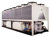 luftgekühlter Kaltwassersatz und Wärmepumpe Galletti LSE