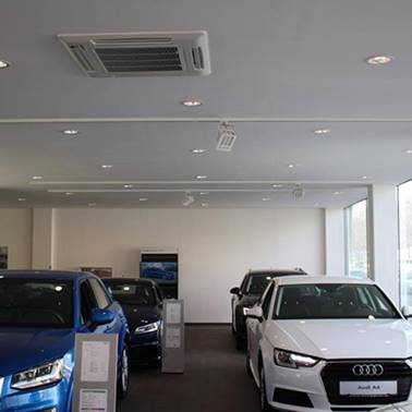 Referenz Klimaanlage Autohaus Schwandl